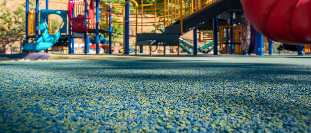 St. Petersburg Safety Surfacing-Bonded Rubber Mulch